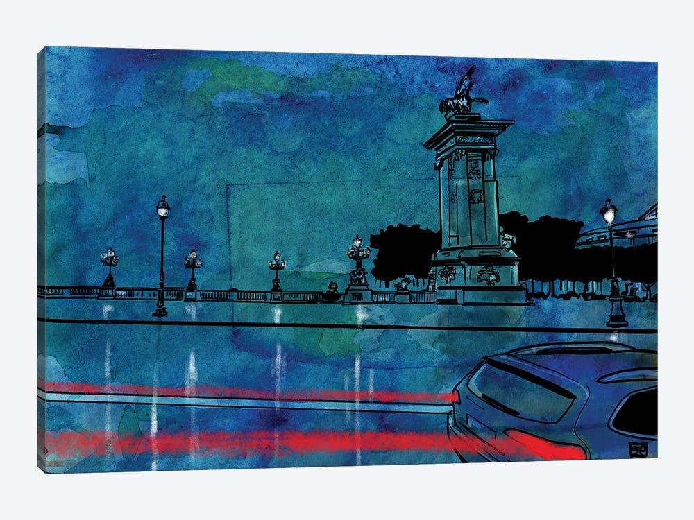 Cars II by Giuseppe Cristiano 1-piece Canvas Artwork