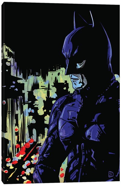 Dark Knight Canvas Art Print