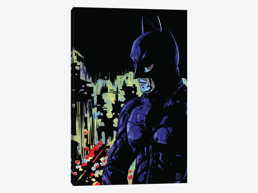 Dark Knight by Giuseppe Cristiano 1-piece Art Print