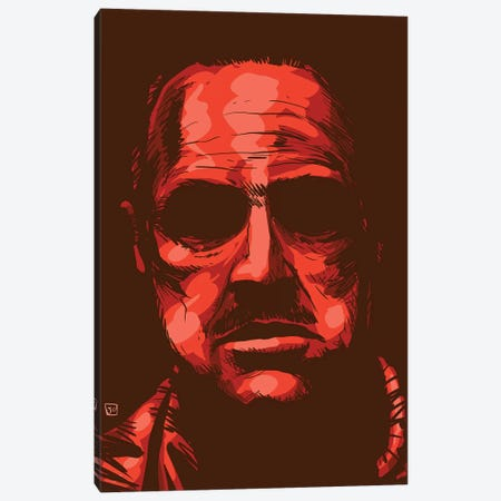 Godfather Canvas Print #JCR111} by Giuseppe Cristiano Canvas Print