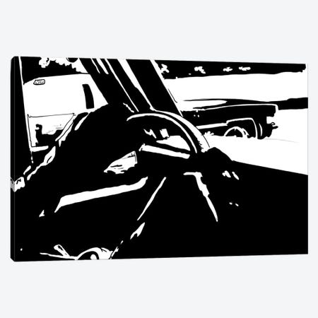 Driving I Canvas Print #JCR11} by Giuseppe Cristiano Art Print