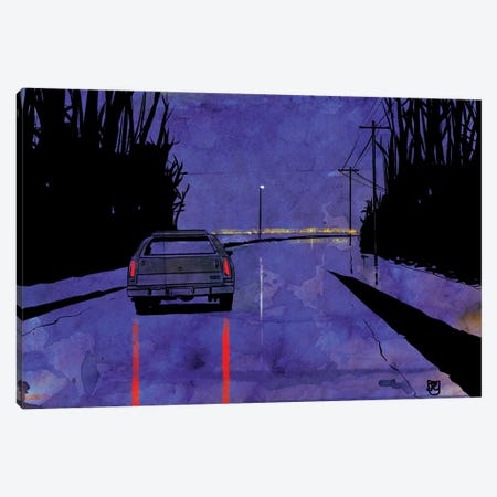 Nightscape II Canvas Print #JCR120} by Giuseppe Cristiano Canvas Wall Art