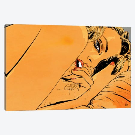 Still In Bed Canvas Print #JCR125} by Giuseppe Cristiano Canvas Art Print