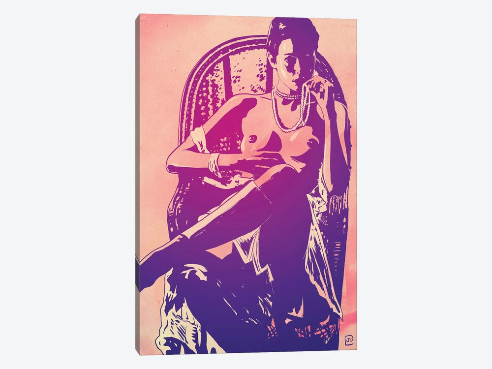 The Lady by Giuseppe Cristiano 1-piece Canvas Artwork