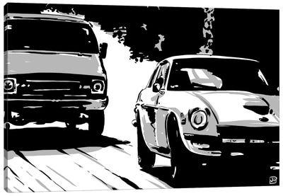 Driving II Canvas Print #JCR12