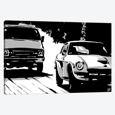 Driving II Canvas Print #JCR12} by Giuseppe Cristiano Canvas Print