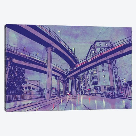 Urban Landscape Canvas Print #JCR130} by Giuseppe Cristiano Canvas Print
