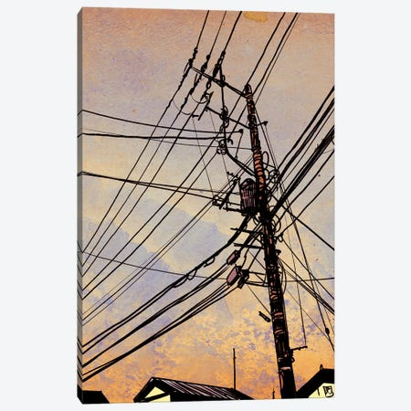Wires II Canvas Print #JCR132} by Giuseppe Cristiano Art Print
