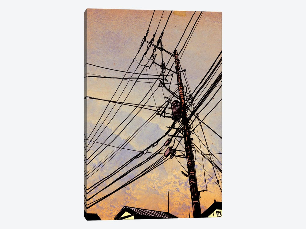 Wires II by Giuseppe Cristiano 1-piece Canvas Art Print