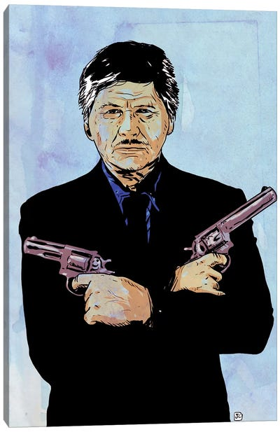 Bronson Canvas Art Print