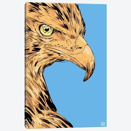 Eagle Canvas Print #JCR13} by Giuseppe Cristiano Canvas Print