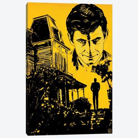 Psycho Canvas Print #JCR158} by Giuseppe Cristiano Art Print