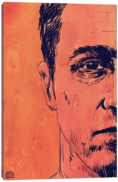 Fight Club by Giuseppe Cristiano Canvas Art Print