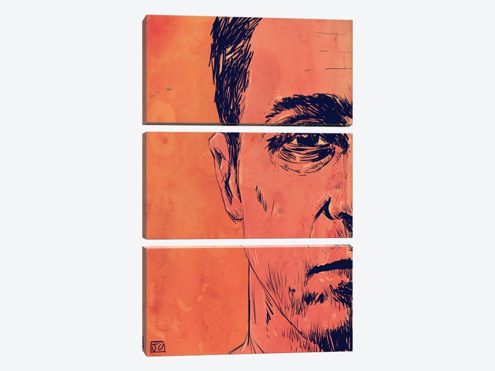 Fight Club by Giuseppe Cristiano 3-piece Art Print