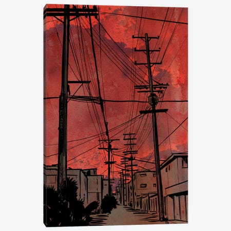Wires IV Canvas Print #JCR166} by Giuseppe Cristiano Art Print