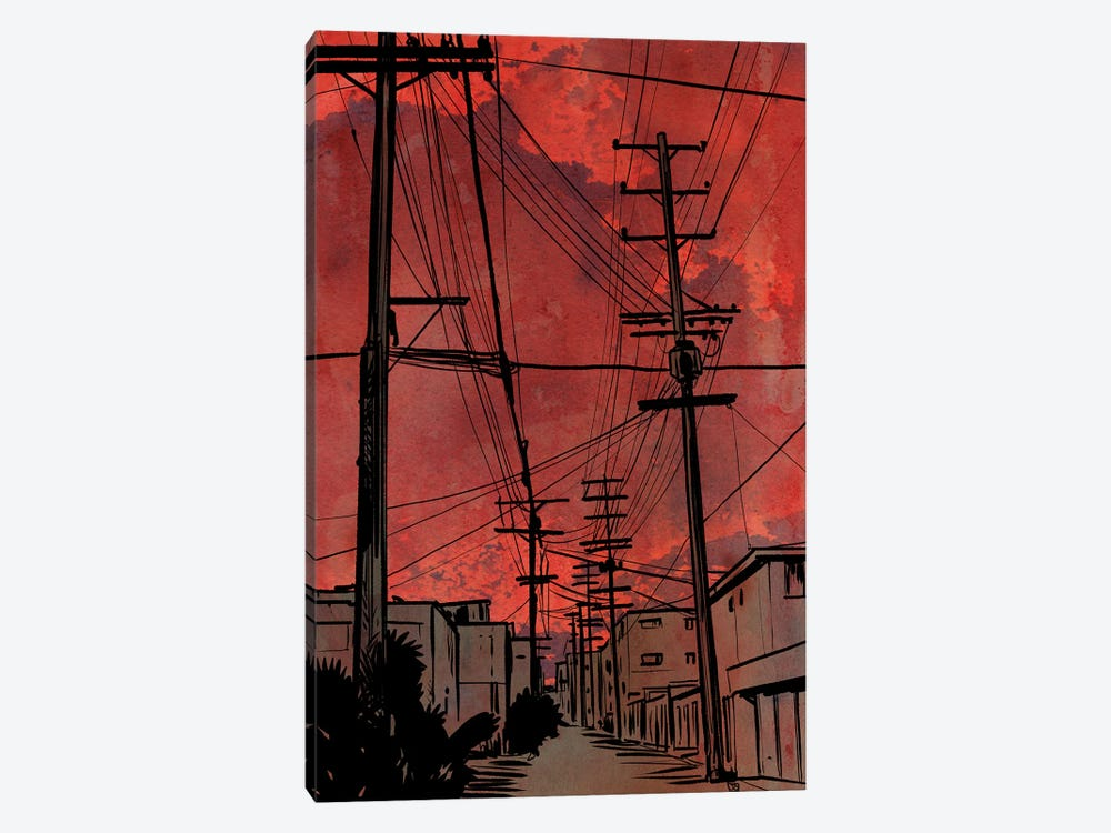 Wires IV by Giuseppe Cristiano 1-piece Canvas Art