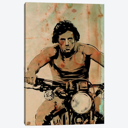 First Blood: John Rambo Canvas Print #JCR16} by Giuseppe Cristiano Canvas Art