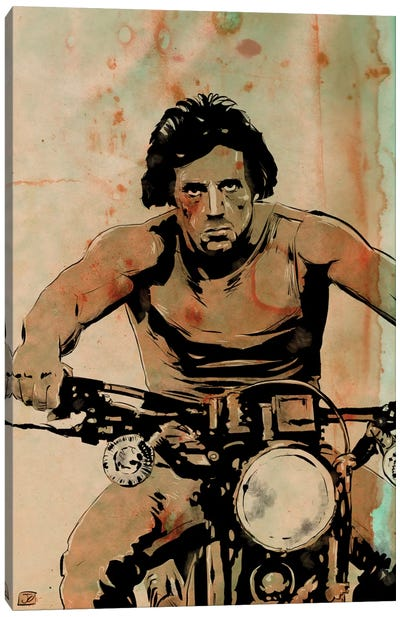 First Blood: John Rambo by Giuseppe Cristiano Canvas Art Print