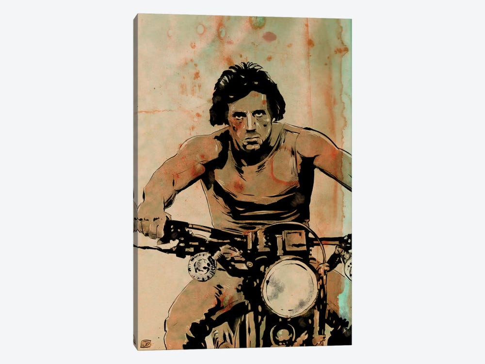 First Blood: John Rambo by Giuseppe Cristiano 1-piece Canvas Wall Art