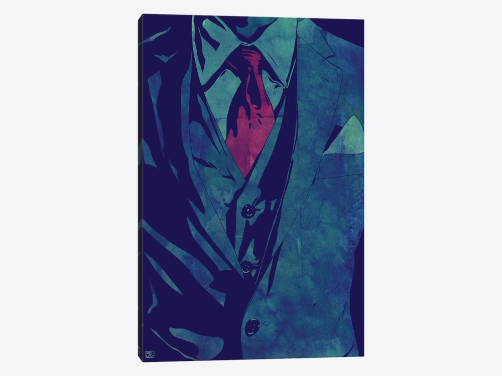 Gentleman by Giuseppe Cristiano 1-piece Canvas Art Print