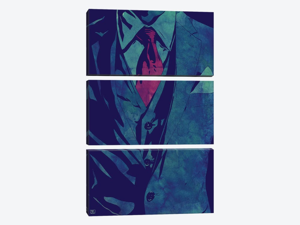 Gentleman by Giuseppe Cristiano 3-piece Art Print