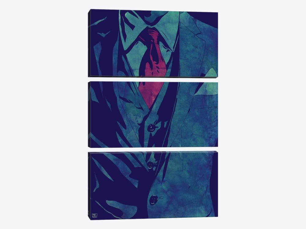 Gentleman by Giuseppe Cristiano 3-piece Art Print