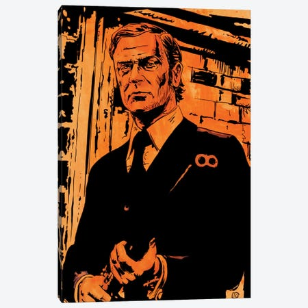 Get Carter: Jack Carter Canvas Print #JCR20} by Giuseppe Cristiano Canvas Artwork