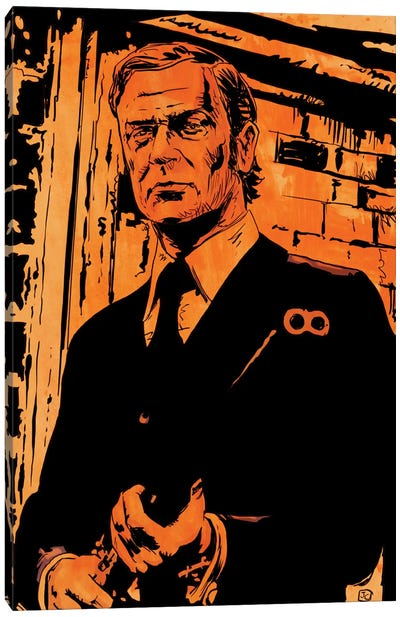 Get Carter: Jack Carter Canvas Art Print