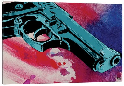 Gun CXI Canvas Art Print