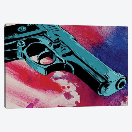 Gun CXI Canvas Print #JCR23} by Giuseppe Cristiano Canvas Wall Art