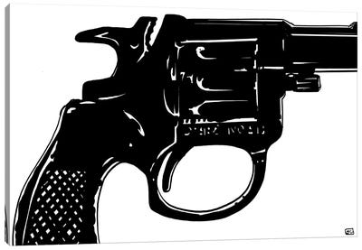 Gun I by Giuseppe Cristiano Canvas Art Print