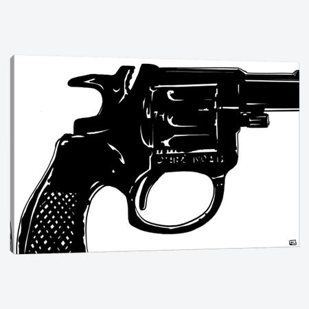 Gun I Canvas Print #JCR24} by Giuseppe Cristiano Art Print