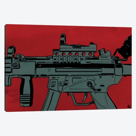 Gun Machine Canvas Print #JCR25} by Giuseppe Cristiano Canvas Print