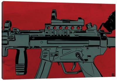 Gun Machine Canvas Print #JCR25