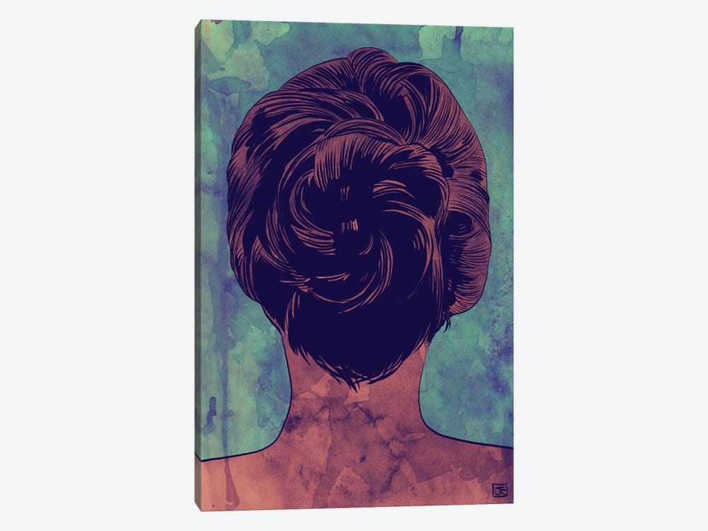 Hair by Giuseppe Cristiano 1-piece Canvas Art