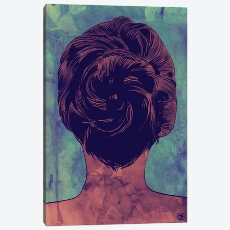 Hair 3-Piece Canvas #JCR27} by Giuseppe Cristiano Canvas Art Print