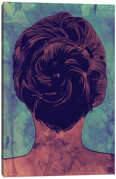 Hair Canvas Art Print