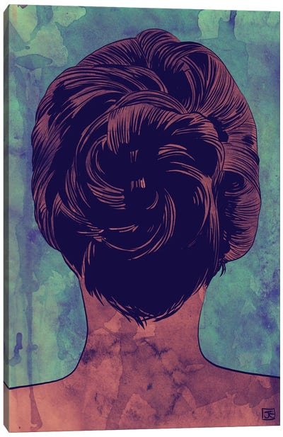 Hair Canvas Art Print