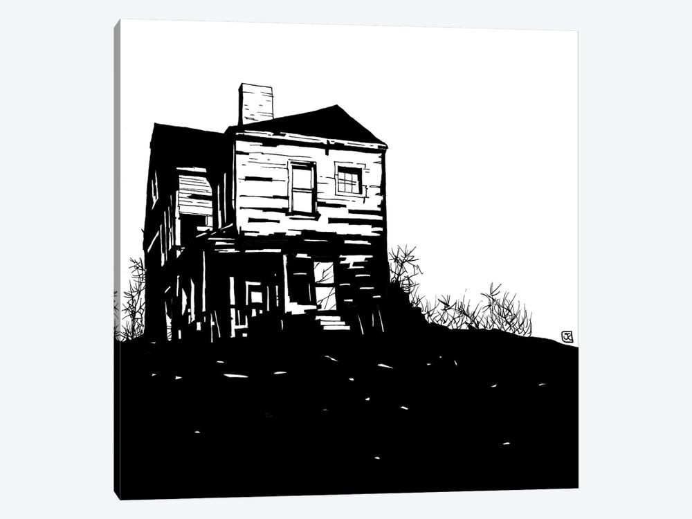 House by Giuseppe Cristiano 1-piece Canvas Print