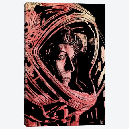 Aliens Canvas Print #JCR29} by Giuseppe Cristiano Canvas Art