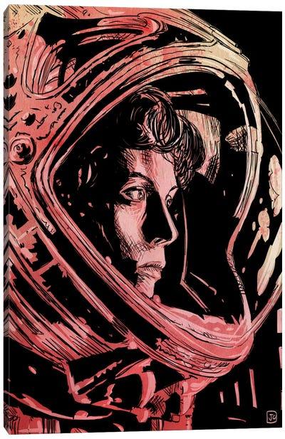 Icons: Aliens Canvas Print #JCR29