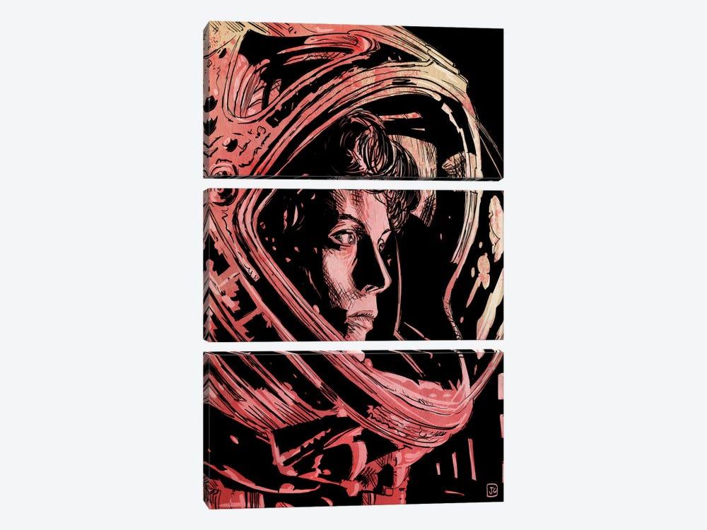 Aliens by Giuseppe Cristiano 3-piece Canvas Wall Art