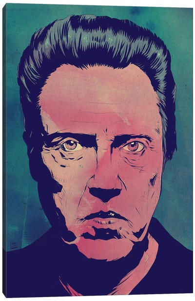 Icons: Christopher Walken Canvas Print #JCR30