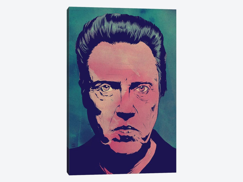 Christopher Walken by Giuseppe Cristiano 1-piece Canvas Wall Art