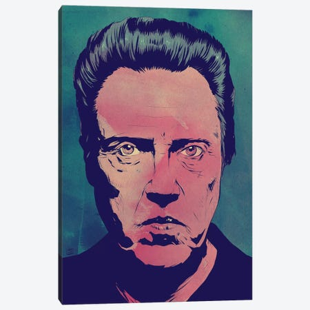 Christopher Walken Canvas Print #JCR30} by Giuseppe Cristiano Art Print