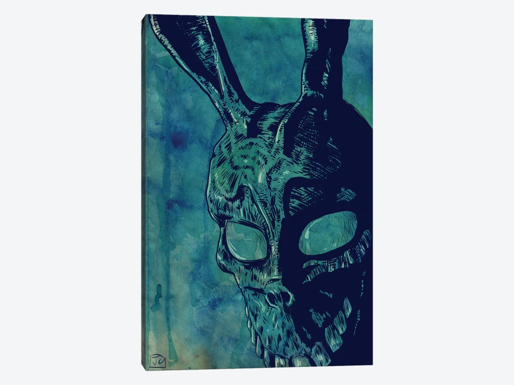 Icons: Donnie Darko by Giuseppe Cristiano 1-piece Canvas Wall Art