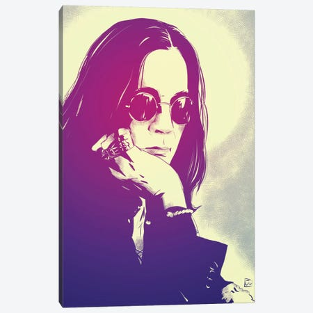 Ozzy Canvas Print #JCR33} by Giuseppe Cristiano Canvas Print