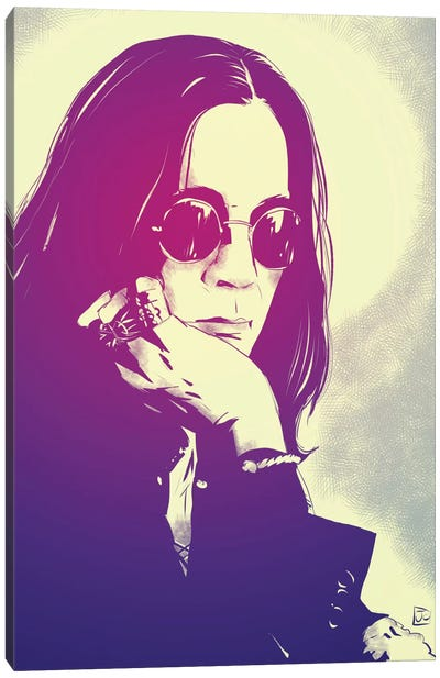 Ozzy by Giuseppe Cristiano Canvas Art Print