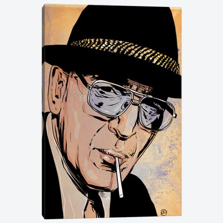 Kojak Canvas Print #JCR38} by Giuseppe Cristiano Canvas Art Print