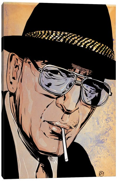 Kojak Canvas Art Print